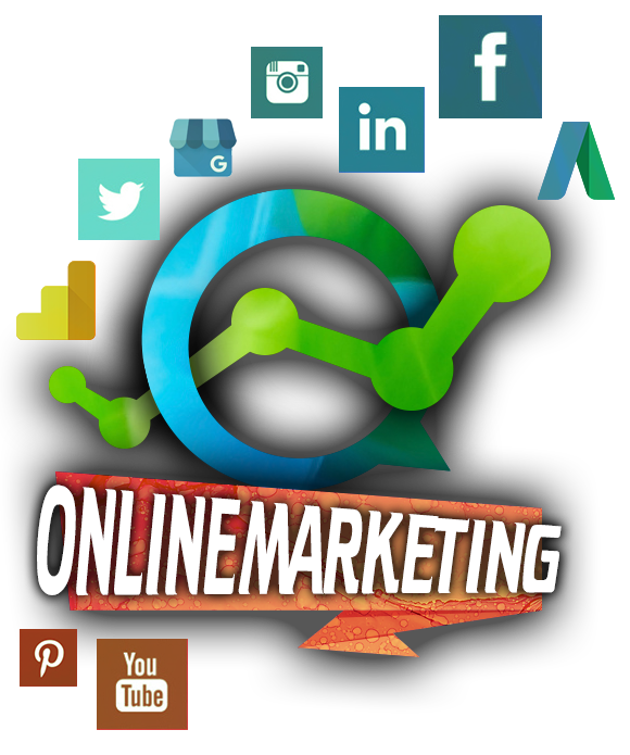 Onlinemarketing - Social Media, Google Adwords, Google Business, Google Analytics