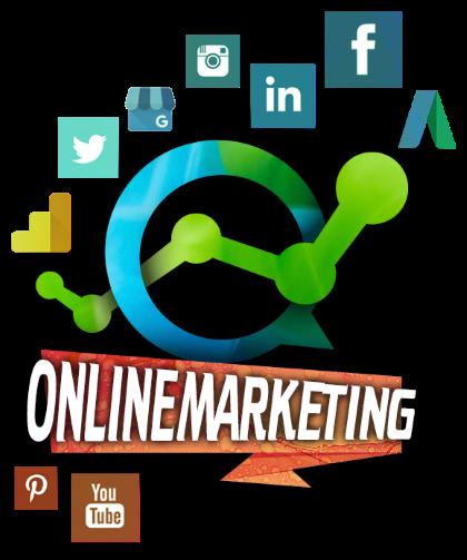 Onlinemarketing - Social Media, Google Adwords, Google Business, Google Analytics